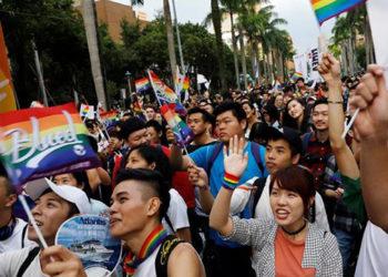 ЛГБТ-активисты на Тайване/hrw.org