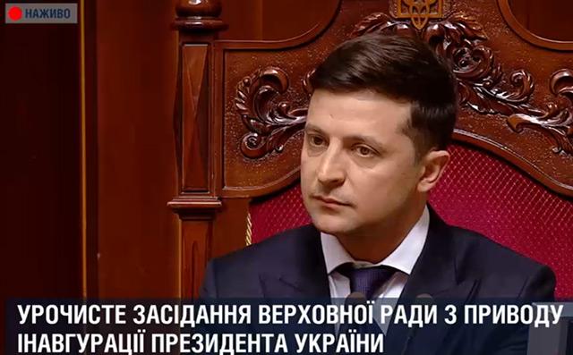 Владимир Зеленский/кадр телеканала 112
