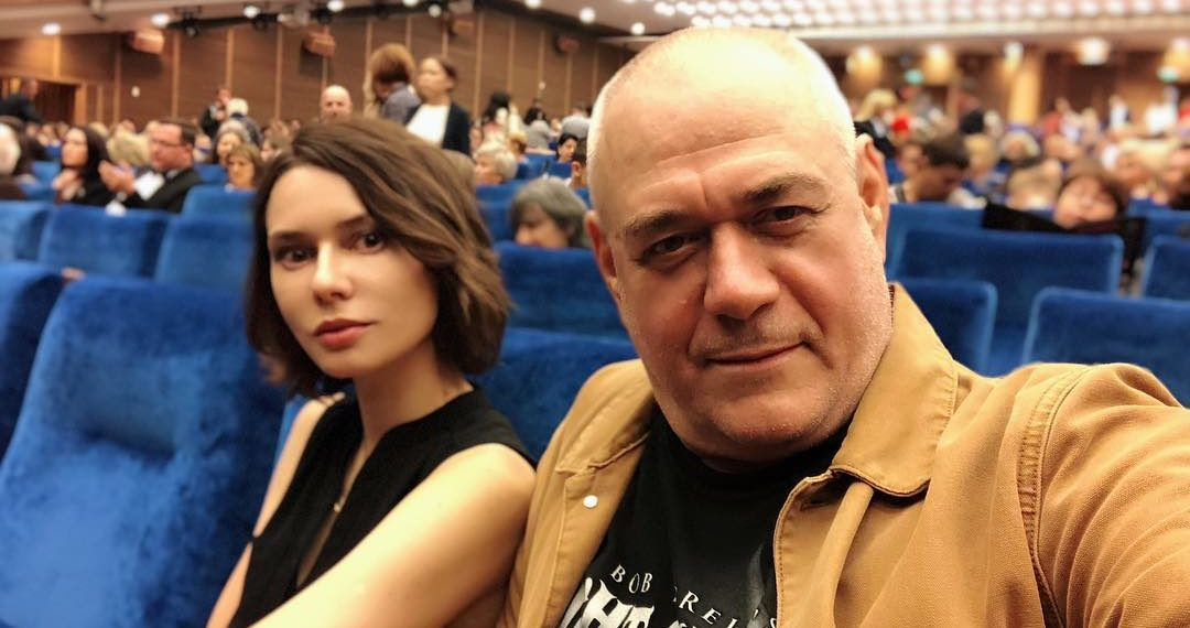 Сергей Доренко с женой Юлией. Фото из инстаграма журналиста
