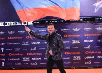 Сергей Лазарев в Тель-Авиве. Фото из инстаграма певца