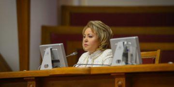 Председатель Совета Федерации РФ Валентина Матвиенко/ Официальный сайт Совета Федерации