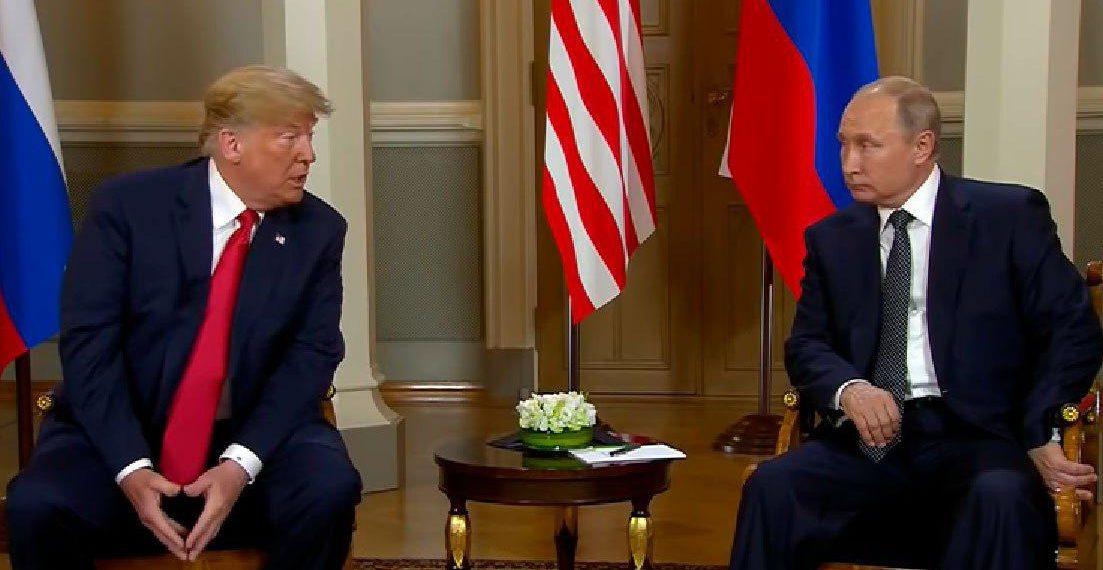 Дональд Трамп и Владимир Путин/скриншот youtube-канала Fox News