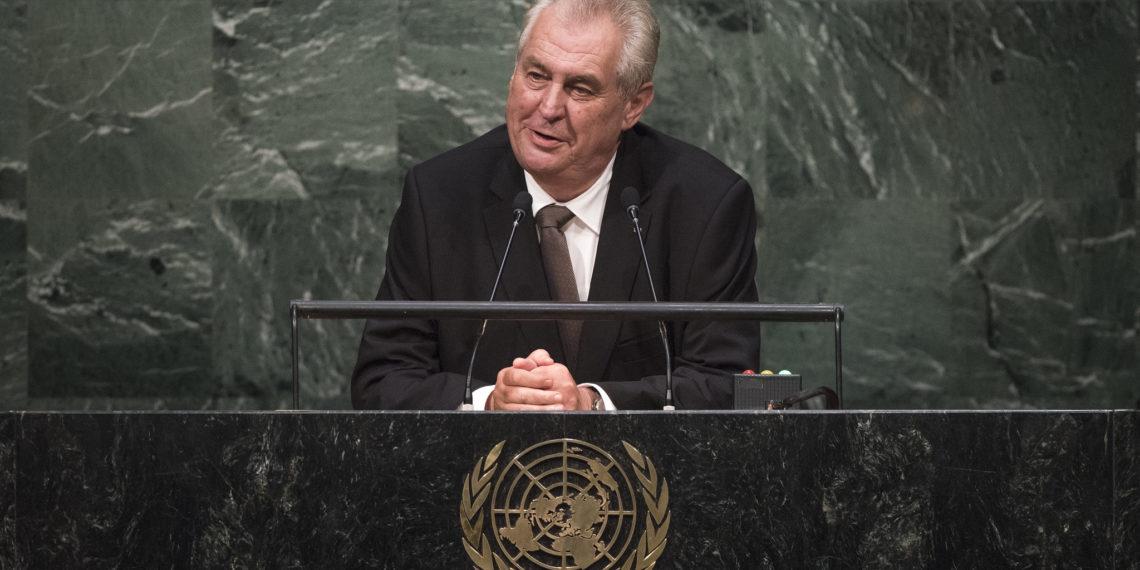 Президент Чехии Милош Земан/UN Photo/Cia Pak/flickr.com
