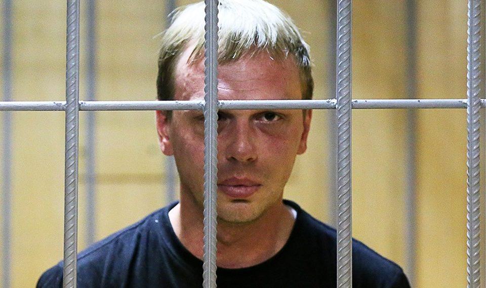 Иван Голунов в зале суда / Facebook