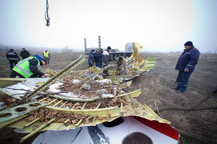 Обломки MH17/defensie.nl